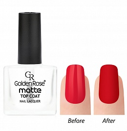 Лак для ногтей Golden Rose Matte Top Coat